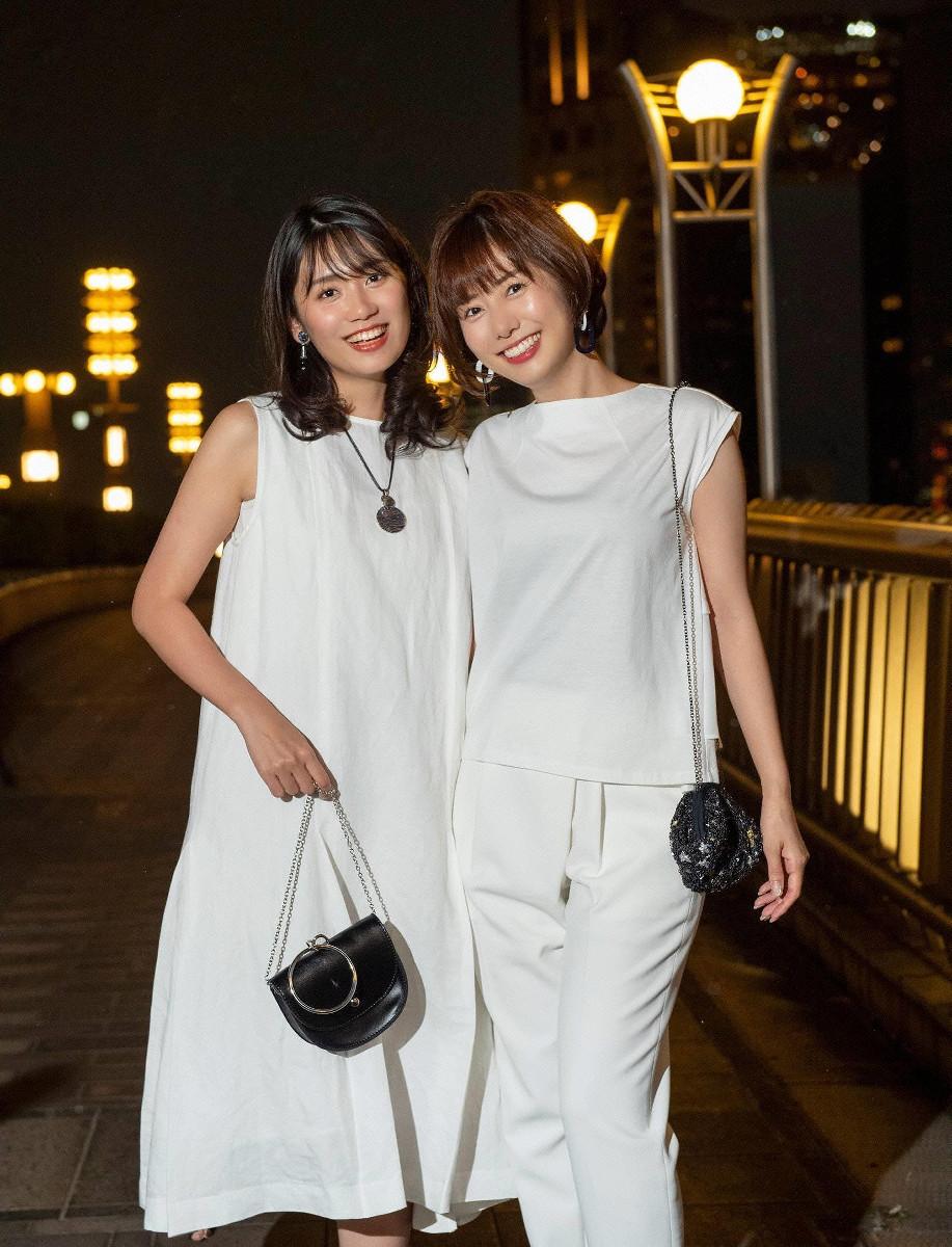 7月の山崎夕貴アナと、新美有加アナ