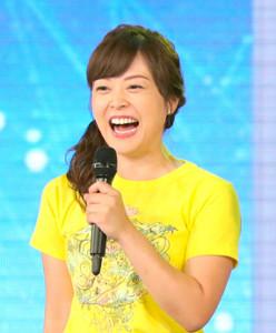 オープニングにいつもの笑顔で登場した日本テレビ・水卜麻美アナ