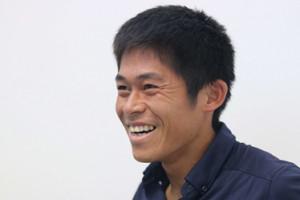 ニューカレドニアマラソンから帰国した川内優輝(カメラ・太田 涼)