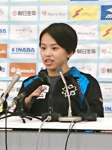 東京五輪を現役生活の集大成とする意向を示した村上茉愛