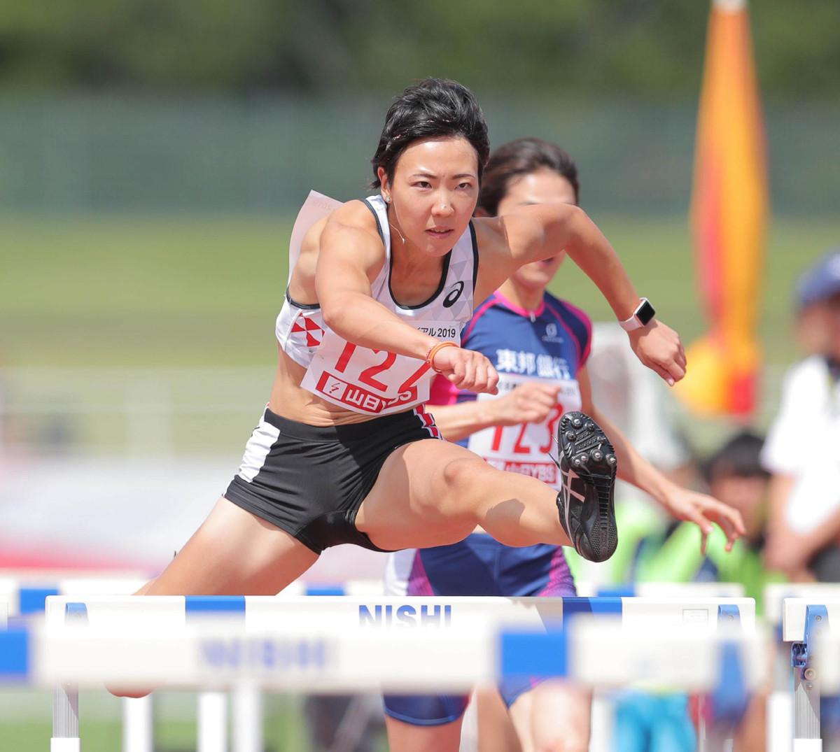女子100メートル障害で12秒97の日本新記録をマークした寺田明日香。世界陸上の参加標準記録も突破した(カメラ・相川 和寛)
