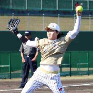 日本代表・尾崎望良投手