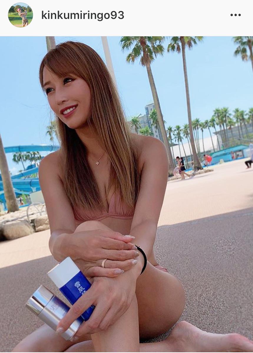 インスタグラムより@kinkumiringo93