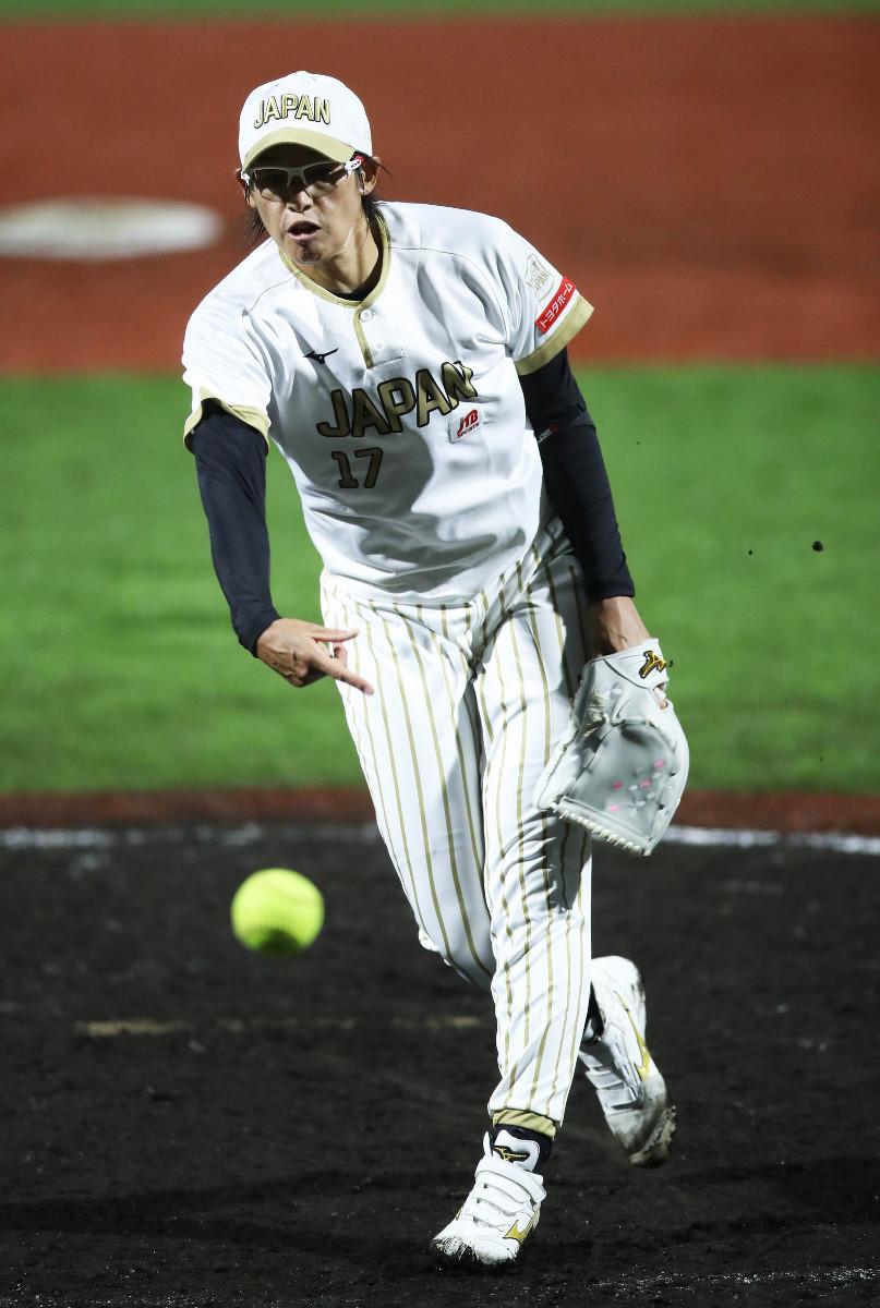 8月30日の復帰戦で4回から3番手で登場した上野由岐子