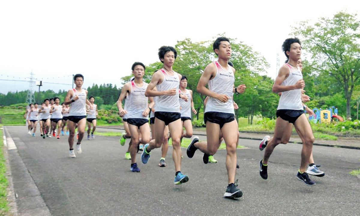 悲願の箱根初出場を狙う麗沢大は夏合宿で1日平均40キロも走り込んだ