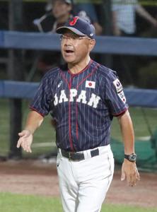 任期満了になる永田裕治監督