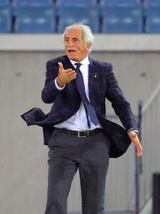 モロッコ代表2戦目で勝利を手にしたハリルホジッチ氏