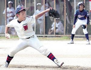 大阪八尾・久保は暑さの中、クレバーな投球で完投勝利を収めた