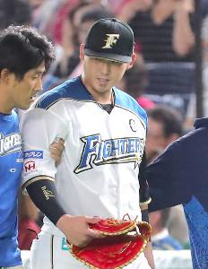 後頭部を強打した中田だが、検査の結果は異常なし