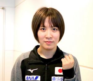 アジア選手権に向けて出発した平野美宇