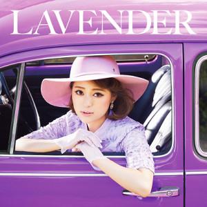chayの最新アルバム「LAVENDER」のジャケット写真