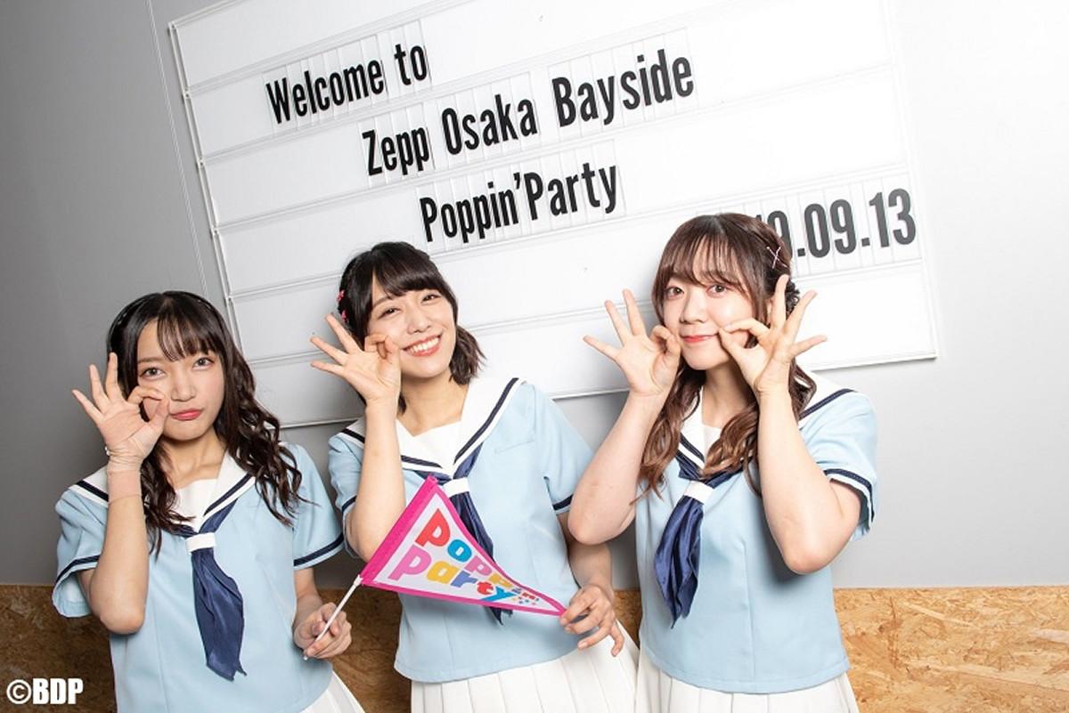 大阪でファンミーティングを行った(左から)西本りみ、愛美、伊藤彩沙(C)BanG Dream! Project/撮影:Satoshi Hata