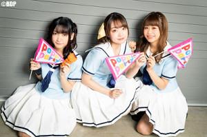 福岡でファンミーティングを行った(左から)西本りみ、大橋彩香、大塚紗英(C)BanG Dream! Project/撮影:Satoshi Hata