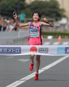 優勝した前田穂波