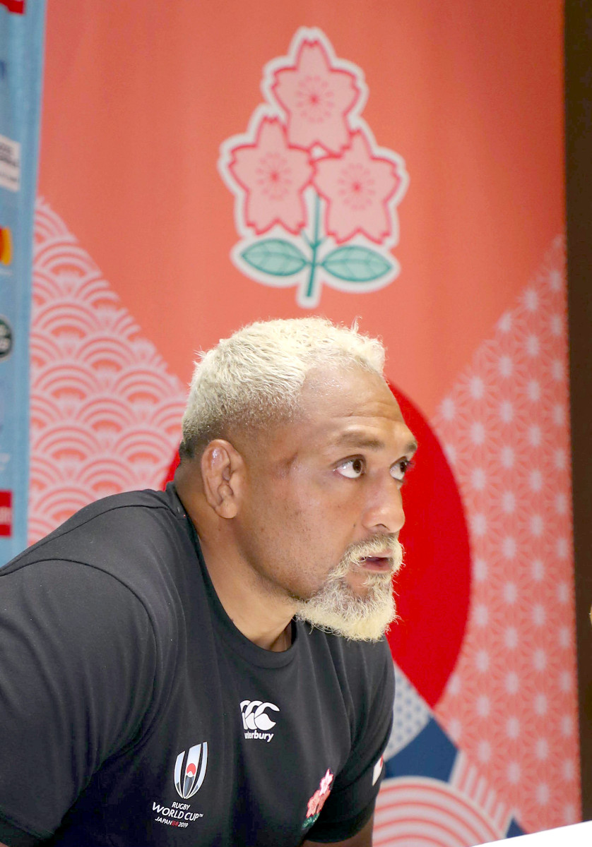 ラグビー日本代表 中島イシレリ フォロー大歓迎、必ず返します
