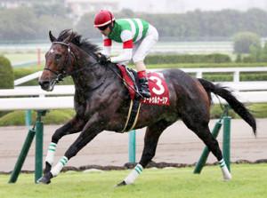 サートゥルナーリアが後続に3馬身差をつけ完勝