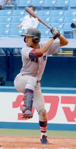 2安打1打点で勝利に貢献した慶大・柳町