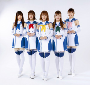 初シングル「Road to Victory」でデビューする「OIRC(仮)」(左から)甲斐ゆいか、萩ゆりの、坂本七海、細野かりん、朝陽唯