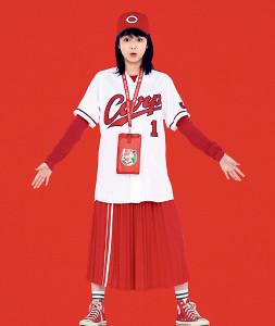 ドラマでカープ女子を演じた高田夏帆