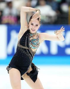 2位のアリーナ・ザギトワ