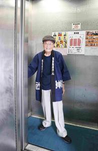 ビートたけしが仕事のかたわら修業に励んだエレベーター