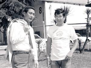 石原裕次郎さんと金田正一さん