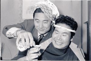 渥美清さんと金田正一さん