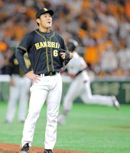 1回2死、岡本和真にソロ本塁打を浴びた先発の望月惇志