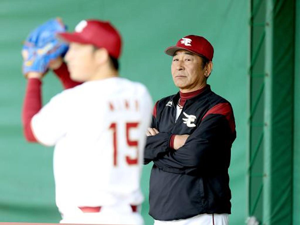 退任する楽天の佐藤義則投手テクニカルコーチ