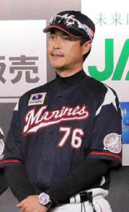 ロッテ時代のDeNA大村巌・新コーチ