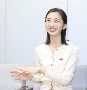笑顔がはじける近藤夏子アナ