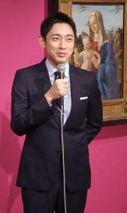 「リヒテンシュタイン侯爵家の至宝展」内覧会に出席した小泉孝太郎