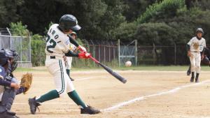 大阪南海は2回無死二、三塁から、廣井の2点打でリードを広げた