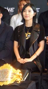 第100回記念大会の応援サポーターを務める予定だった松井珠理奈(写真は9月のプレス発表会時のもの)