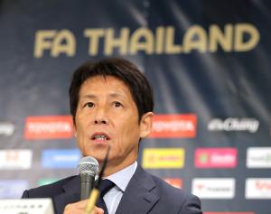 タイ代表の西野朗監督