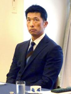 スカウト会議に臨む阪神・矢野監督