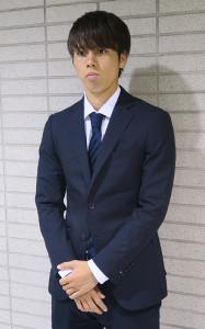ブラジル遠征から帰国したU−22日本代表の川崎MF田中碧