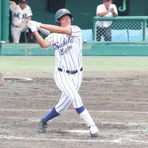 酒田南高・伊藤海斗外野手