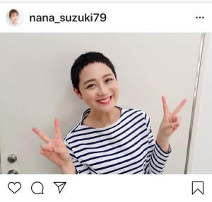 インスタグラムより@nana_suzuki79