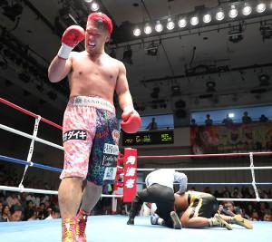 スタットからダウンを奪い、6回TKO勝ちした藤本京太郎