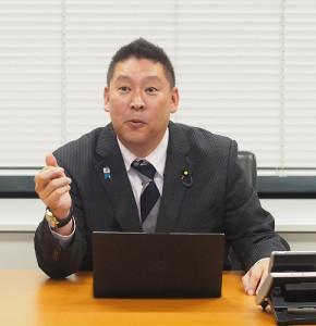 埼玉補選に落選したNHKから国民を守る党・立花孝志党首