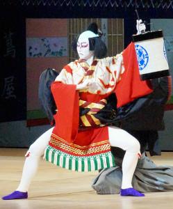 宝塚舞踊会で「供奴」を踊る星組トップスター・礼真琴