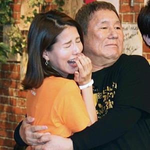 「27時間テレビ」司会のビートたけしと永島優美アナ
