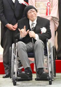 文化功労者顕彰式に出席した大林宣彦監督