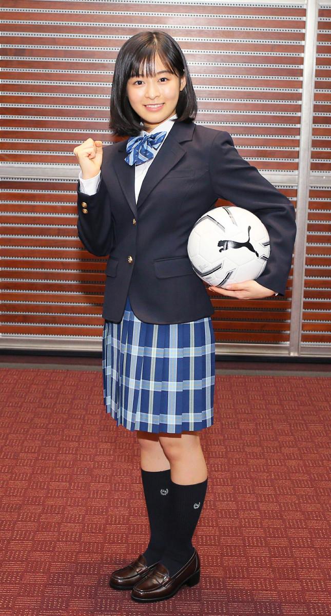 【高校サッカー応援マネージャー】森七菜、実は高校サッカー大分代表校の生徒と明かす 「すごい確率だ…」大分高校応援マネージャー