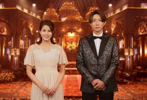 「FNS歌謡祭」総合司会を務める相葉雅紀と永島優美アナ
