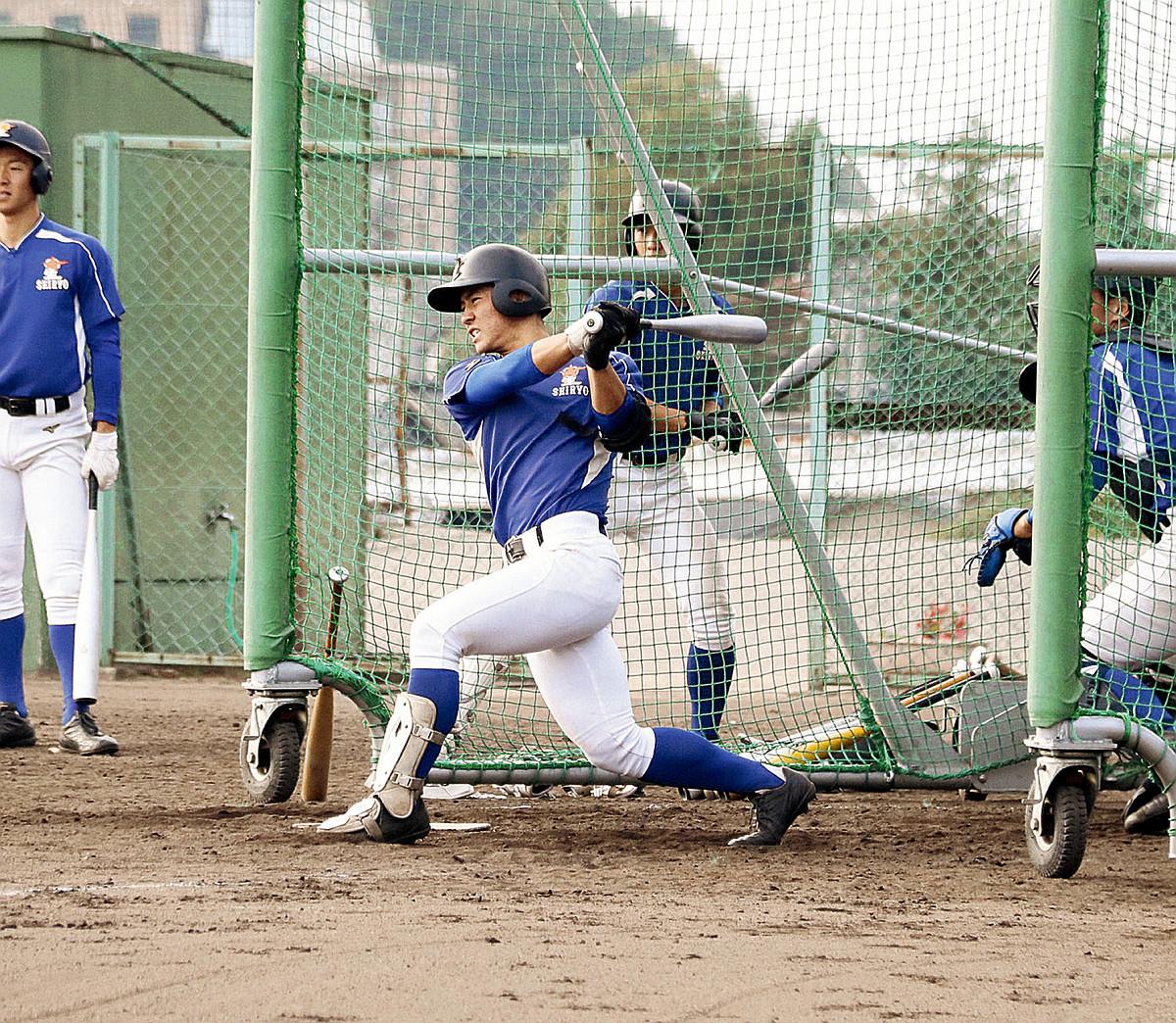 高校通算29本塁打の星稜の4番・内山