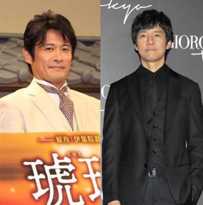 「きのう何食べた?」でゲイ・カップルを演じた内野聖陽(左)と西島秀俊。大ヒット作が来年元旦、SPドラマとして帰ってくる
