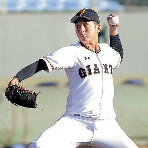 7回から1イニングを無失点に抑えた横川(カメラ・泉 貫太)
