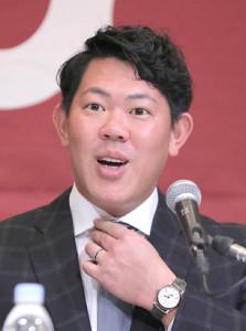 ポスティングでのメジャー挑戦を表明した山口俊